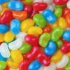 七彩色糖果豆图片