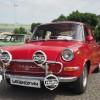 有牌子红色汽车图片素材,复古汽车图片