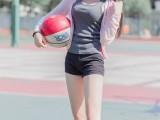 小清新清纯妹子,篮球场上的妹子图
