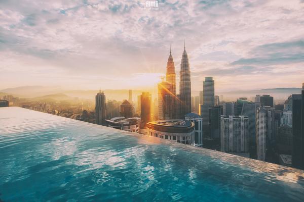 吉隆坡看KLCC双子塔
