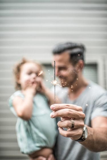 欧美,超有爱的父女图片