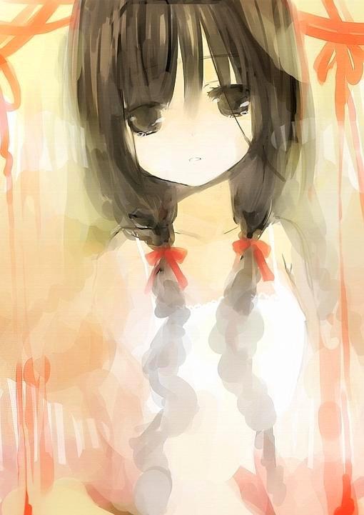 仅存在于插画中的公主_动漫图片