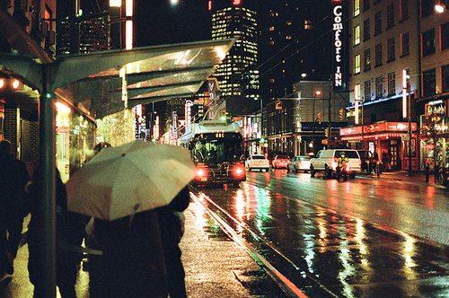 唯美的伤感城市夜晚图片大全