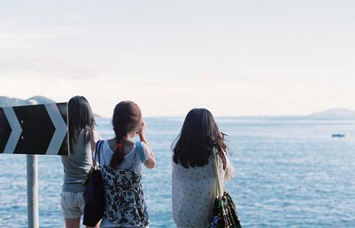 唯美面朝大海,大海图片