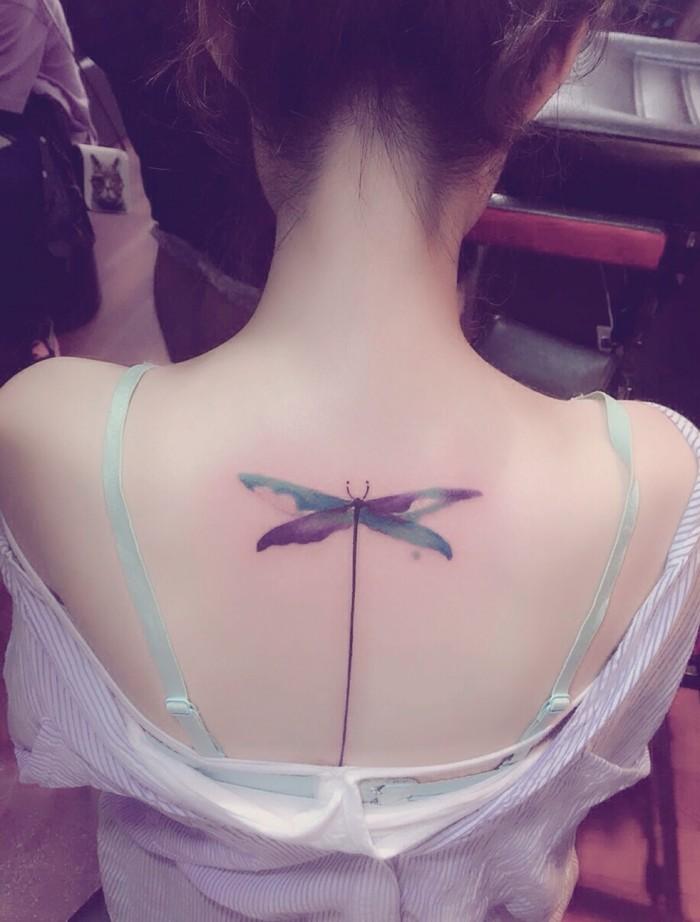 纹身,小清新,唯美