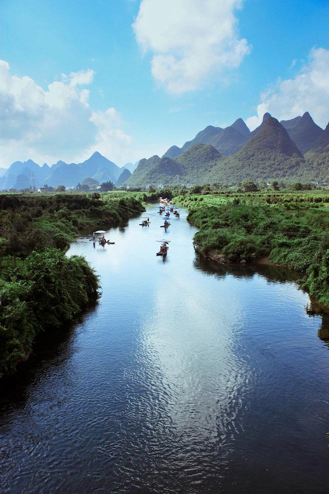 山水风景唯美图片
