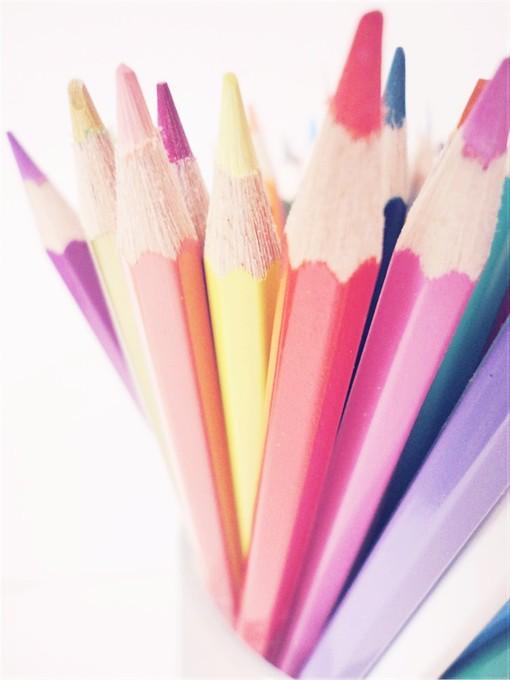 彩色铅笔图片素材juzi1.cn
