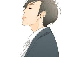 小清新范儿的帅帅男生微信头像图片