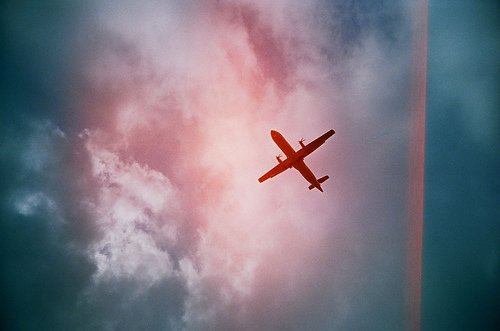小清新天空图片:思念飞过