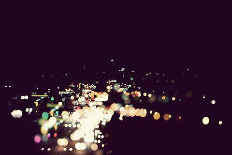 城市晚安图片