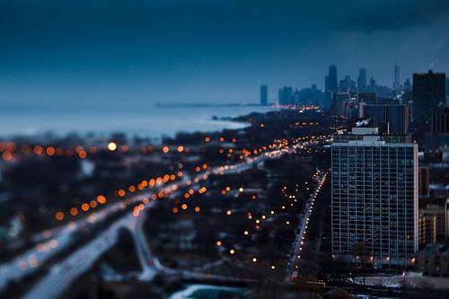 另一种美的芝加哥晚安