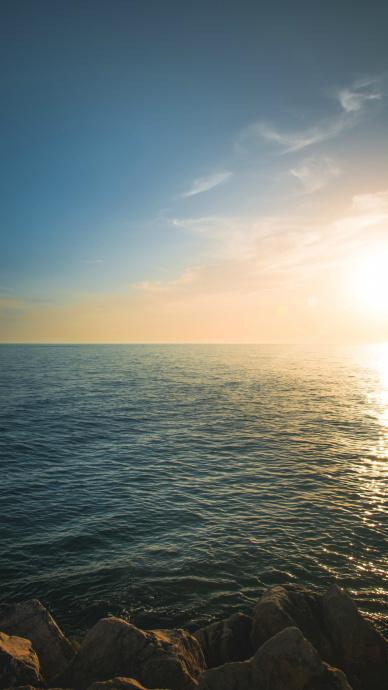 唯美海边干净的手机壁纸