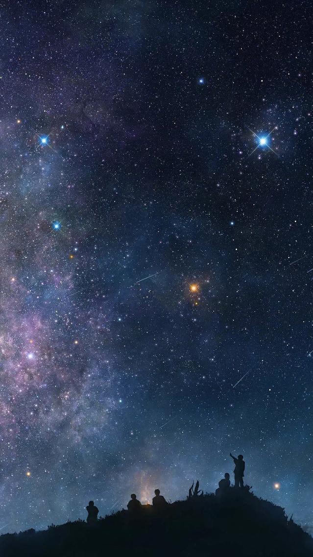 唯美星空手机壁纸