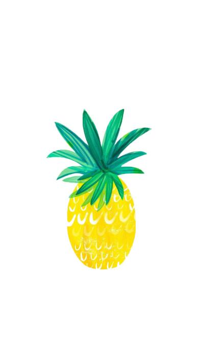 高清手机壁纸,水果菠萝