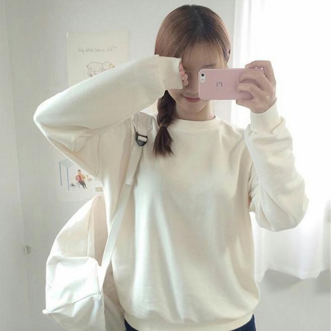 韩系 女生 欧美 半身 唯美 遮脸 镜子照