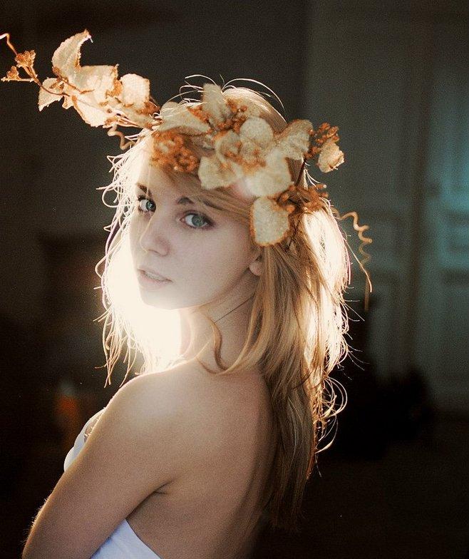 乌克兰美女人像摄影师MartaSyrko,作品风格唯美