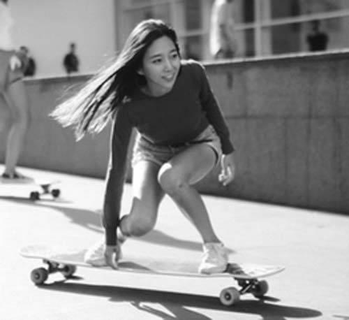 韩国高孝周几岁学滑板高孝周个人身高