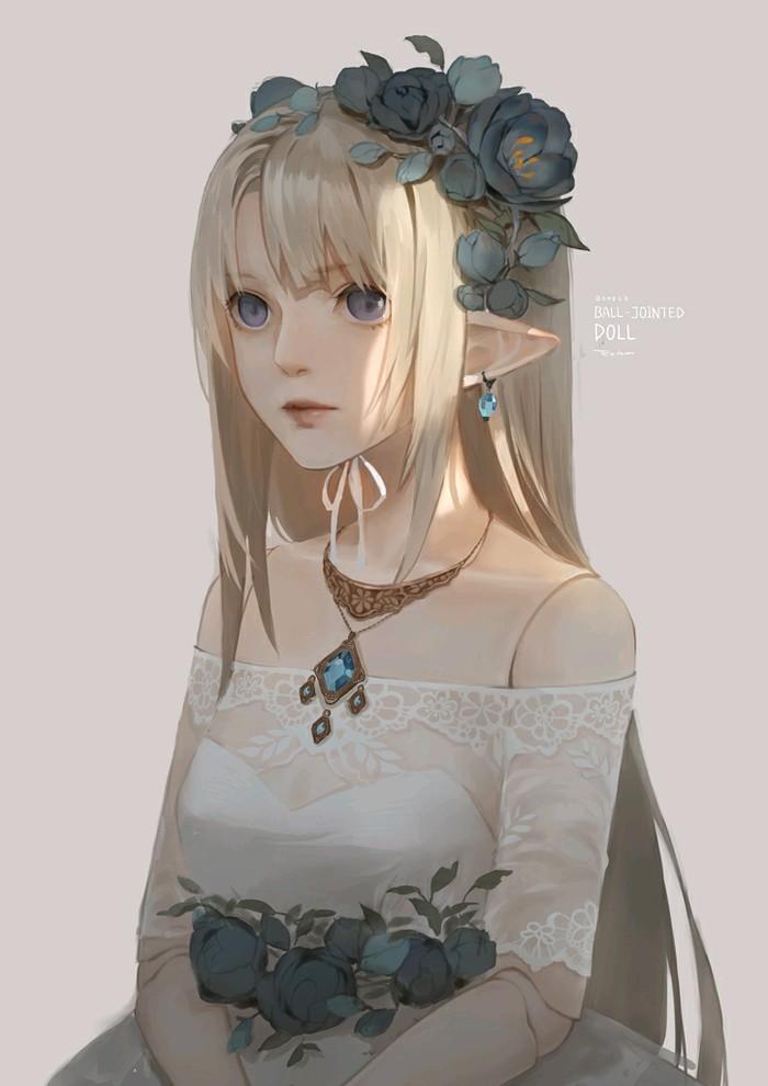 花嫁 精灵