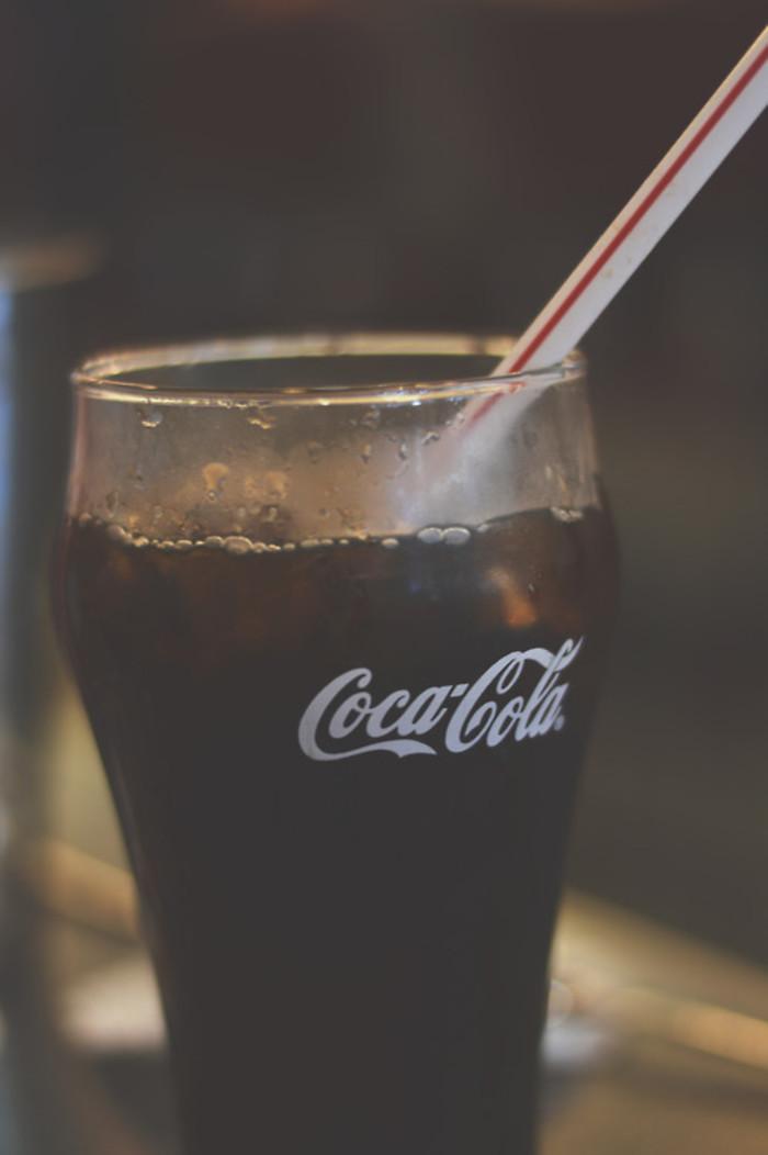可口可乐大图背景图片