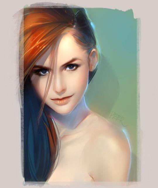 Xiao Ji漂亮的人物肖像插画欣赏