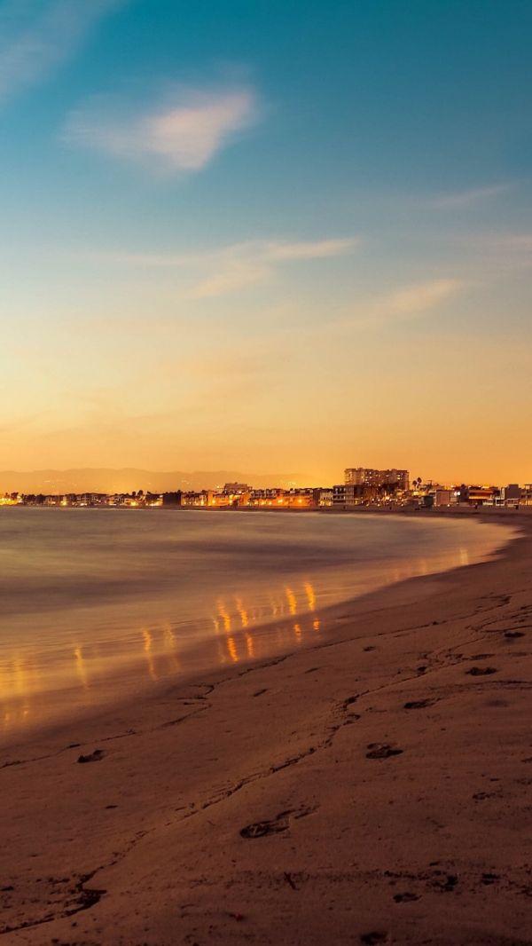 唯美海边壁纸,唯美海边风景图片