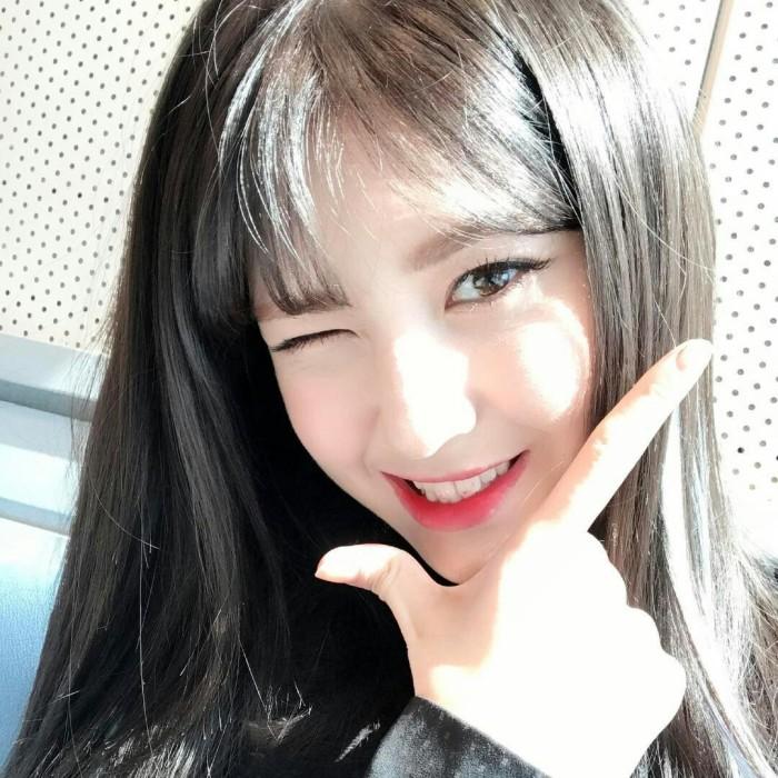 韩国女爱豆头像 全昭弥Somi