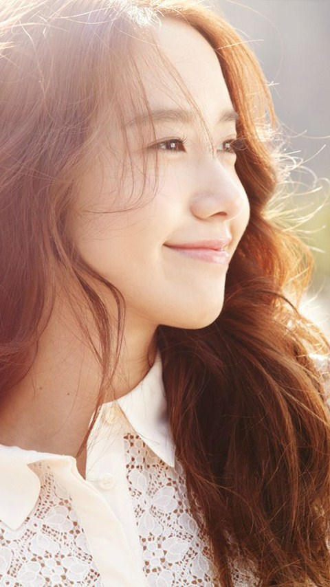 韩国清纯美女少女时代林允儿手机壁纸