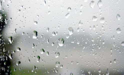 经典雨水玻璃背景图片