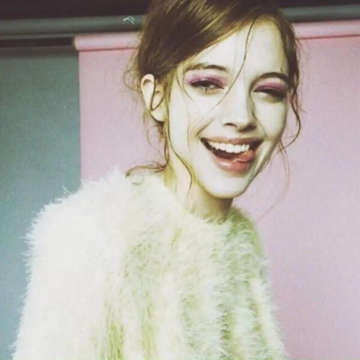 欧美女生头像 张扬地笑 张扬的美