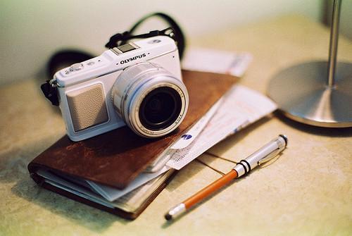 文艺胶片相机复古清新图片