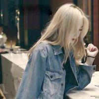 金发女生头像 最新韩版时尚女生