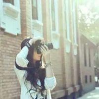 拿相机的女生头像_旅行女生头像相机控