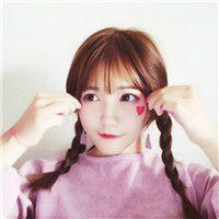 两个辫子可爱女生头像_扎两个小辫子韩版精选