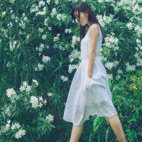 森林系女孩小清新图片 日韩系女生头像