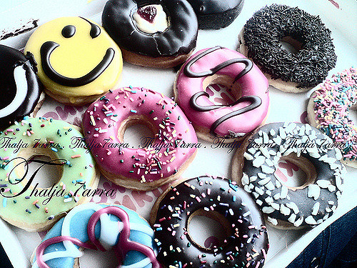 好吃的美味甜品可爱图片