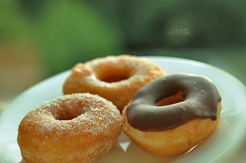 甜蜜的感觉 小清新甜甜圈图片