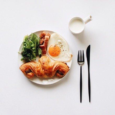 一起吃早餐的幸福 文艺唯美小清新早餐图片