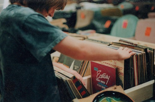 老唱片清新唯美图片