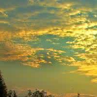 微信头像风景大海夕阳图片高清版 微风轻轻起我好喜欢你