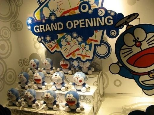 好玩的可爱哆啦A梦玩具图片