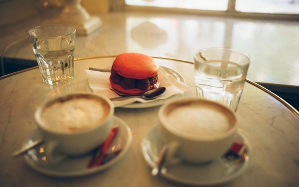 下午茶咖啡厅唯美意境图片