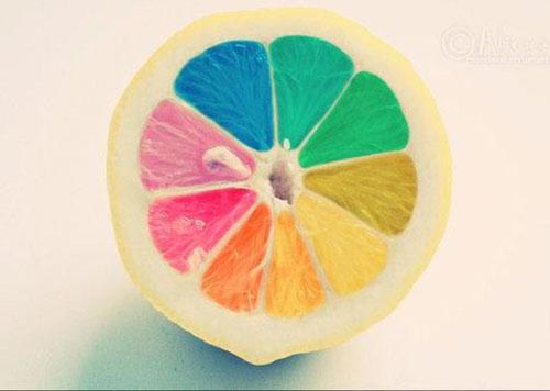 五颜六色的可爱图片