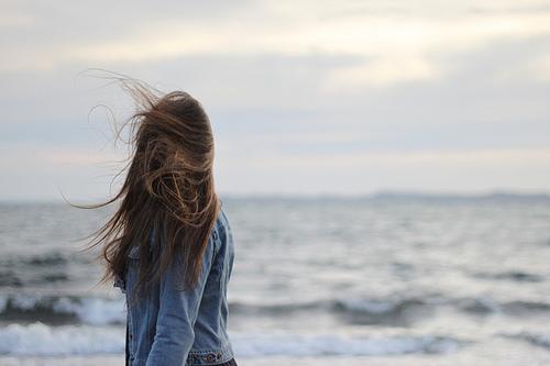 在海边唯美意境图片