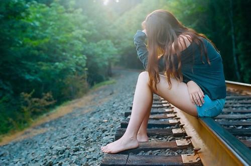 在路边想你和我一起走过的地方
