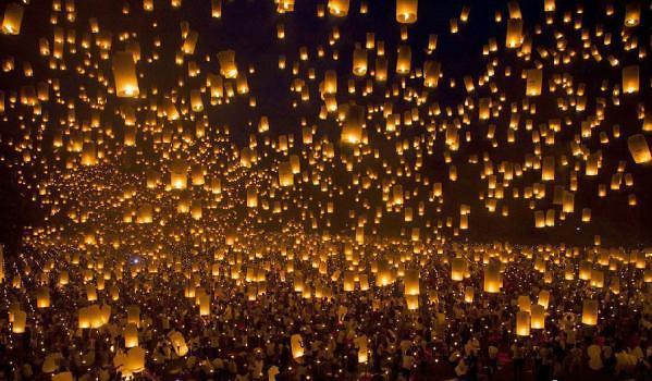 美好的愿望 孔明灯