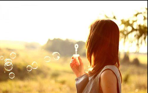 早安心语唯美长句 你我的距离就像是明月与清泉