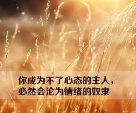 积极人生励志早安心语,励志早安心灵鸡汤