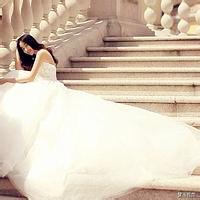穿婚纱的女生头像,白色婚纱美女图片大全