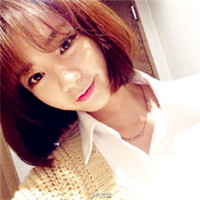 韩式短发刘刘海女生头像,美美哒萌妹子