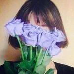 关于花的微信头像手捧花唯美2017 送你一颗星星